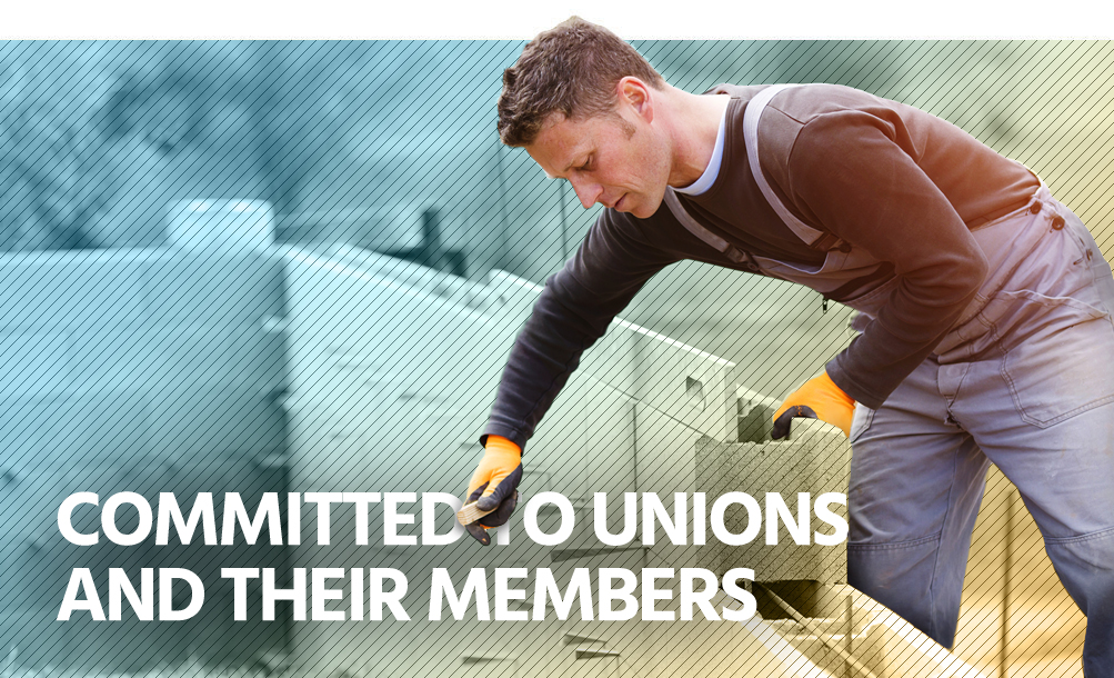 Commited to unions and their members